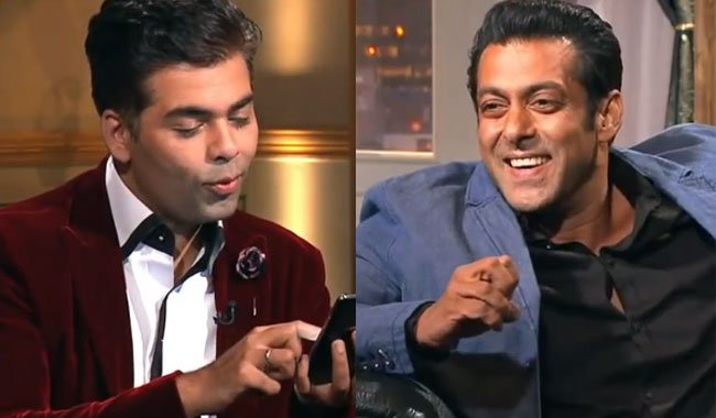 Watch:  Salman Khan's epic reply on KJo's, Are you still a virgin question