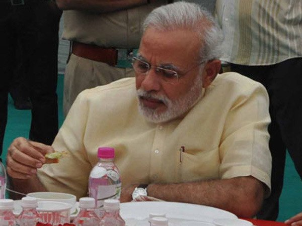 Equality in BJP: PM Modi brought his own tiffin to lunch with booth workers