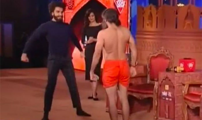 Watch: Baba Ramdev and Ranveer Singh's hilarious dance moves