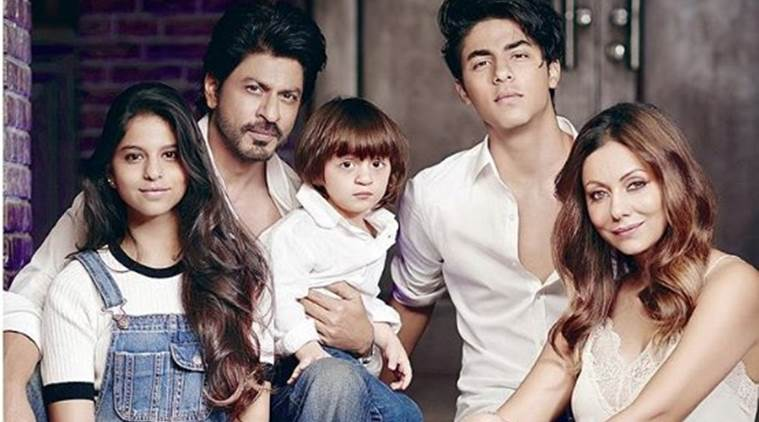 SRK'S family picture is really adorable, check it out here