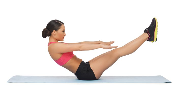 Pilates workout to keep you warm this winter