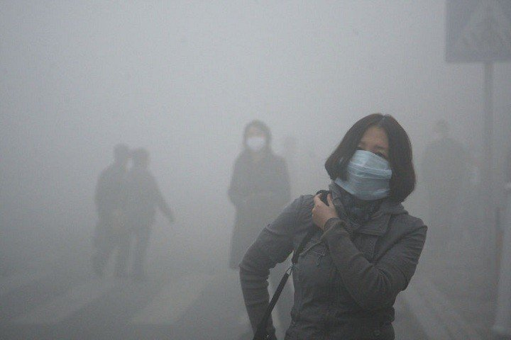 China issued red alert due to dense fog!