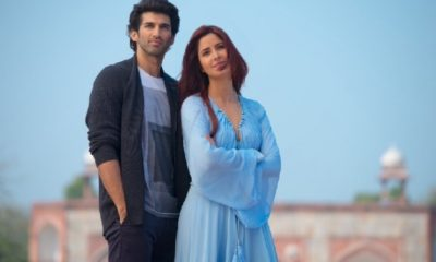 Katrina Kaif welcomed Aditya Roy Kapoor on social media!
