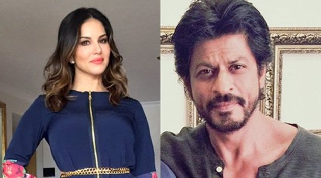 Sunny Leone with SRK