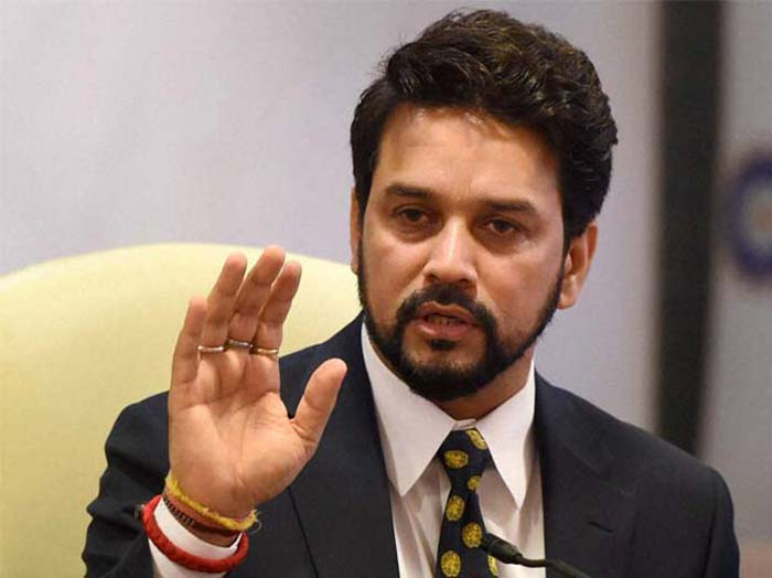BCCI president Anurag Thakur removed from his post