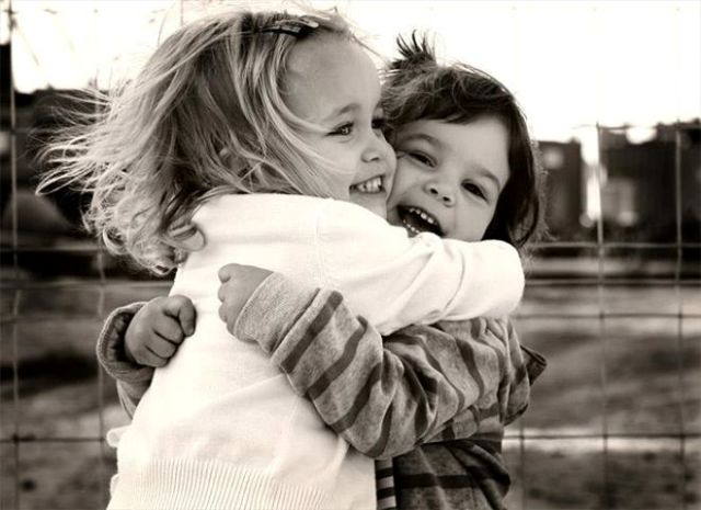 A tight hug can make you forget all your worries