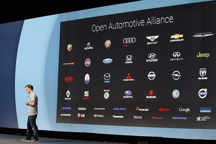 Google and Fiat presents new Android Infotainment system