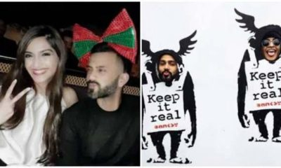 Love in the air: Sonam Kapoor and Anand Ahuja's adorable pic!