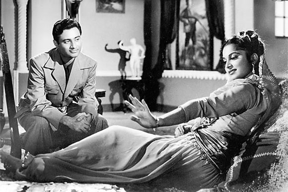 Waheeda Rehman and Dev Annand