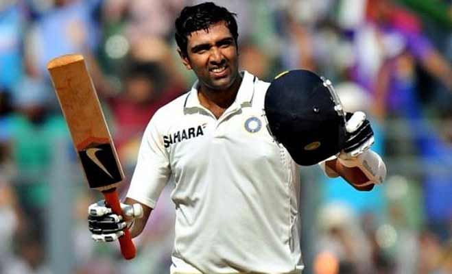 Ashwin completes his century