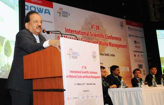 Dr. Harshvardhan at the event