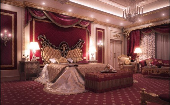 Romantic rooms for romantic night