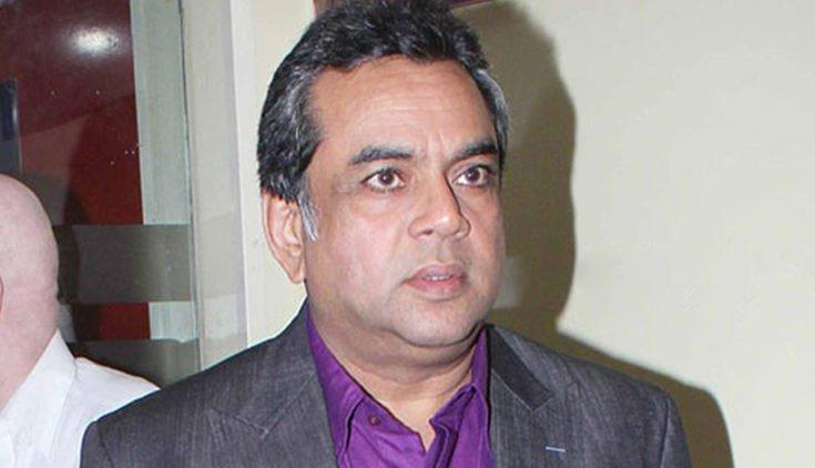 BJP MP Paresh Rawal