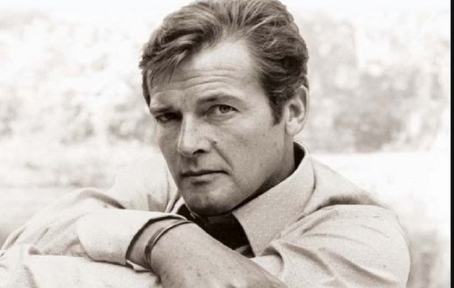 Roger Moore's old picture