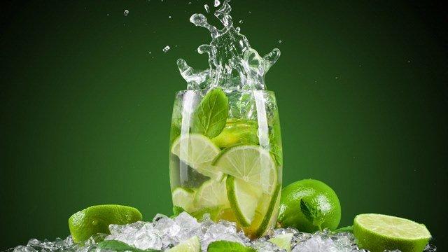 Drinking Lemon water, Representative Image