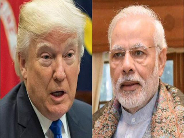 Donald Trump and Narendra Modi