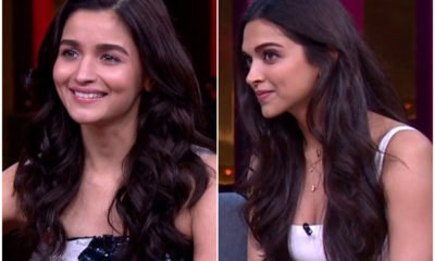 Deepika AND Alia @Koffee with Karan