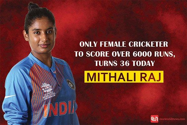 MITHALI Raj turns 36