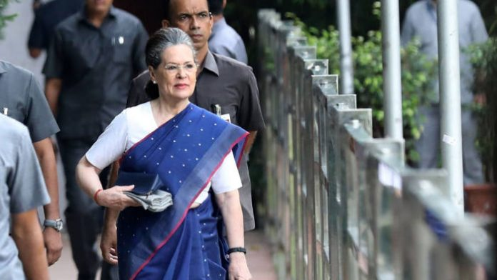 Sonia Gandhi change dynamics of sinking congress