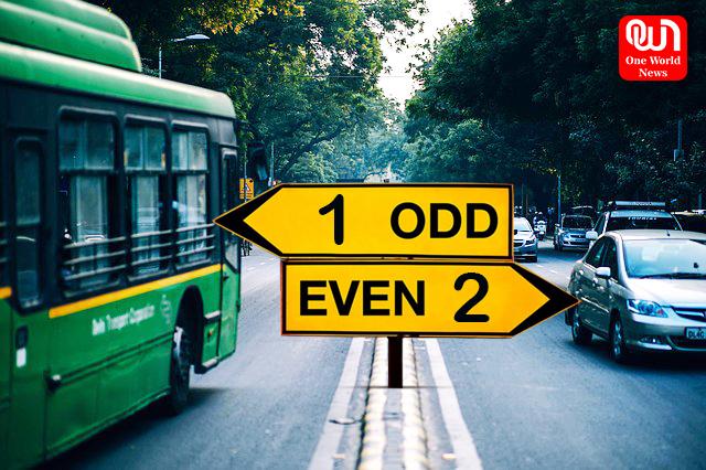 odd even rule delhi