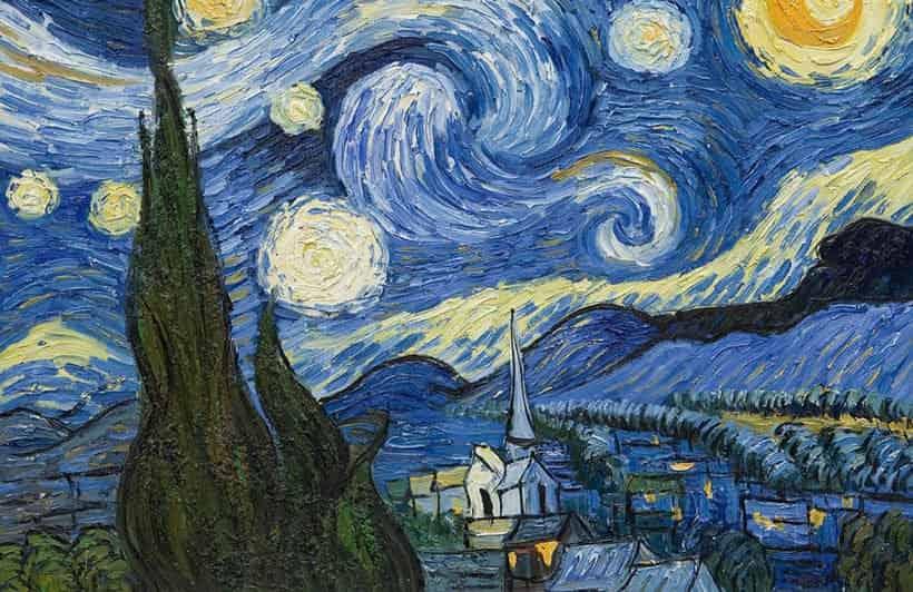 starry night van gogh