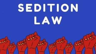 Sedition laws