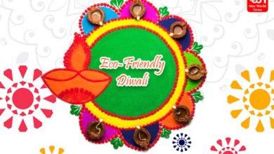 Eco-friendly Rangoli Ideas